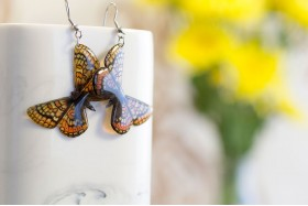 Athalia butterfly earrings