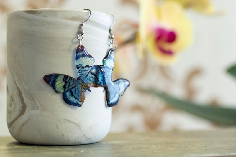 Divalis butterfly earrings