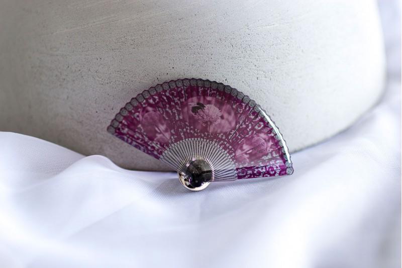 Victorian Fan Pin