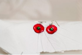 Poppy small earrings