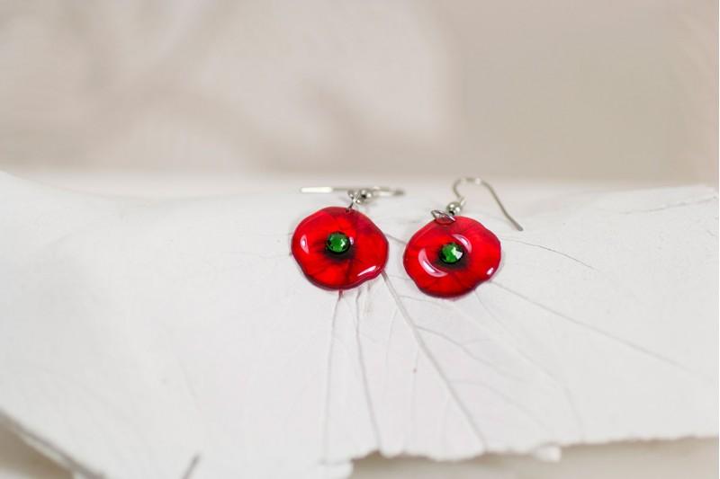 Poppy small earrings